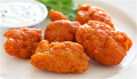 Foto Spicy chicken bites